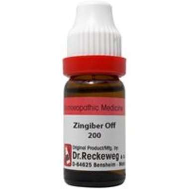 DR. RECKEWEG ZINGIBER OFF DILUTION 200CH