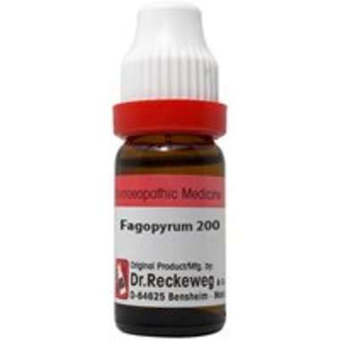 DR. RECKEWEG FAGOPYRUM DILUTION 200CH