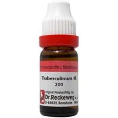 DR. RECKEWEG TUBERCULINUM K DILUTION 200C