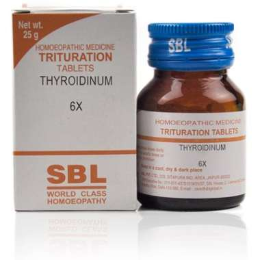 SBL Thyroidinum Trituration Tablet 6X