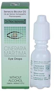DR. RECKEWEG CINERARIA MARITIMA EYE DROP