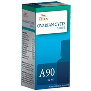 ALLEN A90 OVARIAN CYSTS DROP