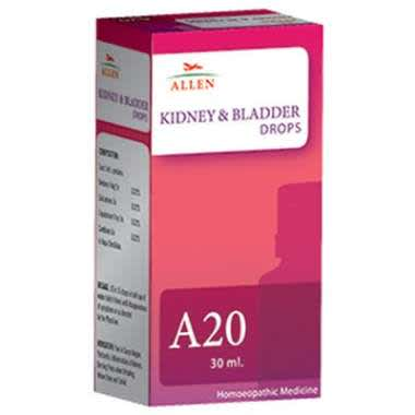 ALLEN A20 KIDNEY AND BLADDER DROP