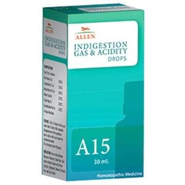 ALLEN A15 INDIGESTION GAS & ACIDITY DROP
