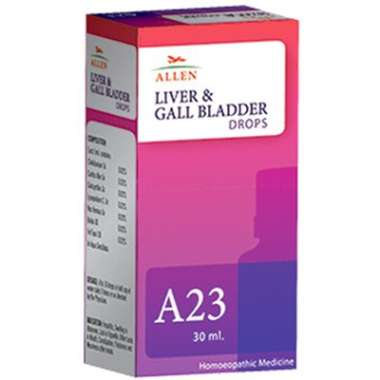 ALLEN A23 LIVER AND GALL BLADDER DROP