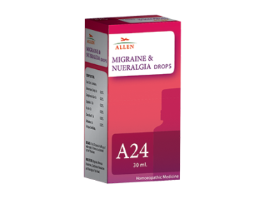 ALLEN A24  MIGRAINE AND NUERALGIA DROP