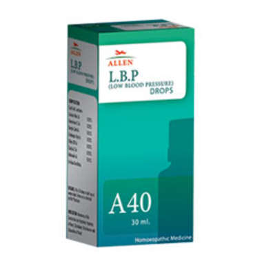 ALLEN A40 L.B.P. (LOW BLOOD PRESSURE) DROP