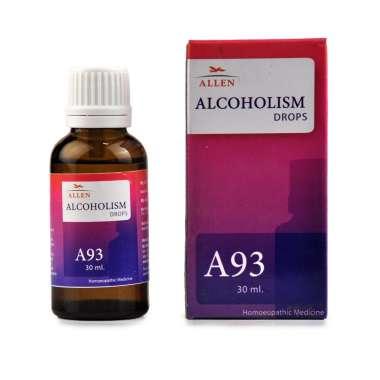 ALLEN A93 ALCOHOLISM DROP