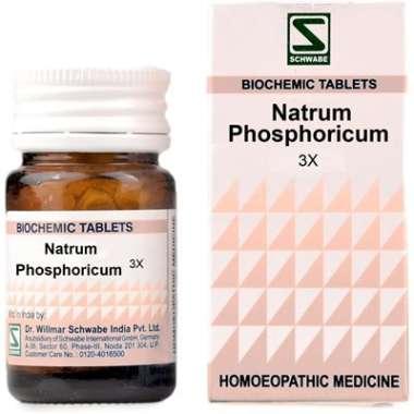 DR WILLMAR SCHWABE NATRUM PHOSPHORICUM BIOCHEMIC TABLET 3X