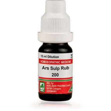 ADEL ARS SULP RUB DILUTION 200CH