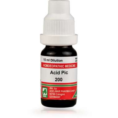 ADEL ACID PIC DILUTION 200CH