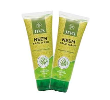 Jiva Neem Face Wash Pack of 2