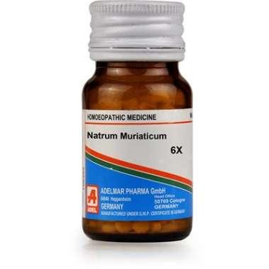 ADEL NATRIUM MURIATICUM BIOCHEMIC TABLET 6X