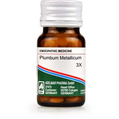ADEL PLUMBUM METALLICUM TRITURATION TABLET 3X