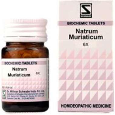 DR WILLMAR SCHWABE NATRUM MURIATICUM BIOCHEMIC TABLET 6X