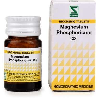 DR WILLMAR SCHWABE MAGNESIUM PHOSPHORICUM TABLET 12X