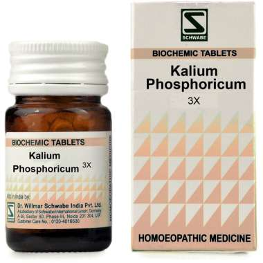 DR WILLMAR SCHWABE KALIUM PHOSPHORICUM BIOCHEMIC TABLET 3X