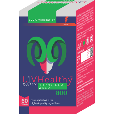 LIVHEALTHY HORNY GOAT WEED 800MG TABLET