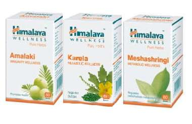 HIMALAYA DIABETES CARE COMBO PACK (AMALAKI 60 TABLET, KARELA 60 TABLET, MESHASHRINGI 60 TABLET)