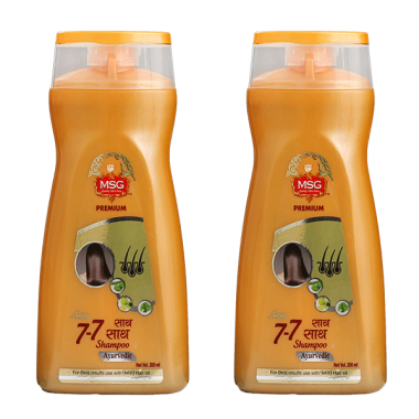MSG 7-7 Shampoo Pack of 2