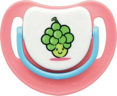 Pigeon Silicone Pacifier Step 2, Grapes