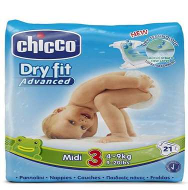 Chicco Diapers Dry Fitting Midi