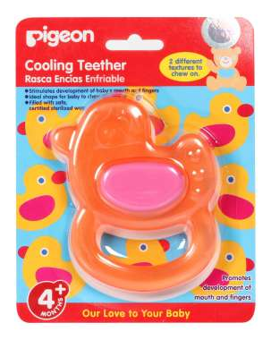 Pigeon Cooling Teether, Duck