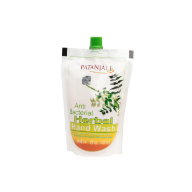 Patanjali Anti Bacterial Herbal Handwash Pouch