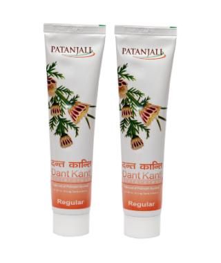 Patanjali Dant Kanti Regular Toothpaste Pack of 2