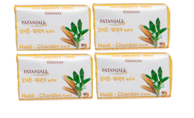 Patanjali Haldi Chandan Kanti Body Cleanser Pack of 4
