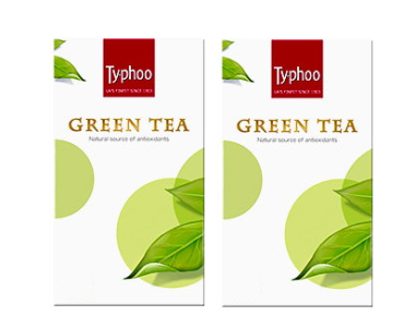 Typhoo Green Tea Pack of 2