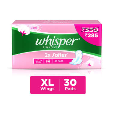 Whisper Ultra Soft Sanitary Pads XL