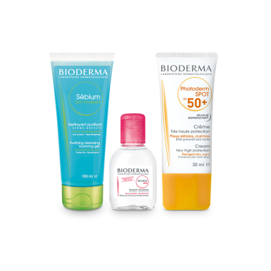 BIODERMA Sun Protection Combo for Pigmented Skin with Travel Pack
