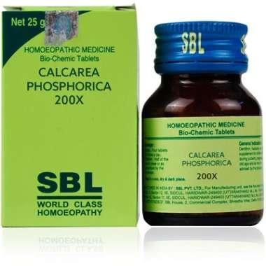 SBL Calcarea Phosphorica Biochemic Tablet 200X