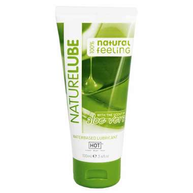 HOT NatureLube Waterbased Lubricant with The Scent of Aloe-Vera