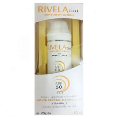 RIVELA TINT SUNSCREEN LOTION LOTION