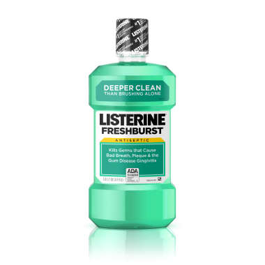 LISTERINE FRESHBURST MOUTH WASH