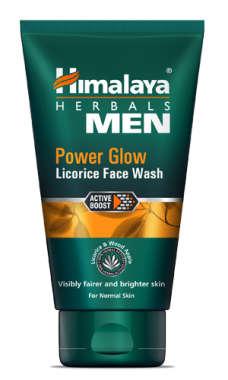 HIMALAYA MEN POWER GLOW LICORICE FACE WASH