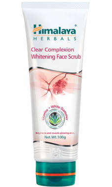 HIMALAYA CLEAR COMPLEXION WHITENING FACE SCRUB