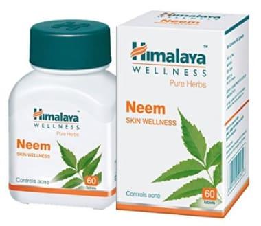 Himalaya Wellness Pure Herbs Neem Skin Wellness Tablet