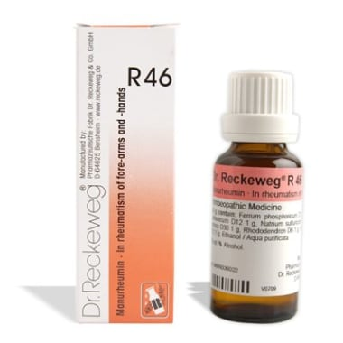 Dr. Reckeweg R46 Rheumatism OF Forearms and Hands Drop