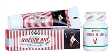 BAKSON'S Rheum Aid Gel & Tablet