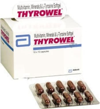 Thyrowel Softgel Capsule