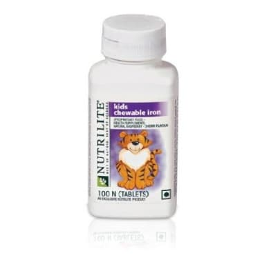 Amway Nutrilite Kids Chewable Iron Tablet
