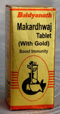 Baidyanath Makardhwaj Tablet (with Gold)