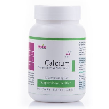 Zenith Nutrition Calcium, Magnesium and Vitamin D Capsule