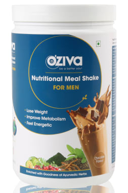 Oziva Nutritional Meal Shake (Meal Replacement) for Men Chocolate