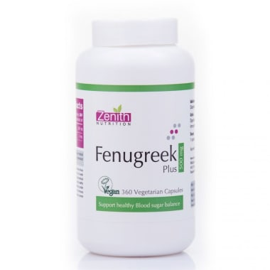Zenith Nutrition Fenugreek Plus 500mg Capsule