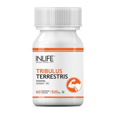 Inlife Tribulus Terrestris Extract 500mg Capsule