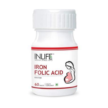 Inlife Iron Folic Acid Tablet